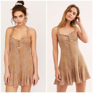 Free People Intimately Make It Happen Mini Slip